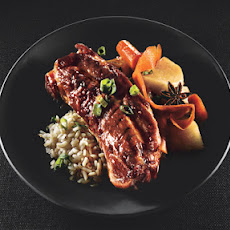 Soy-Braised Pork Country Ribs with Carrots and Turnips