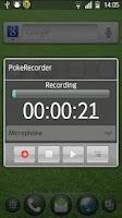 Screenshot of PokeRecorder - Voice Recorder
