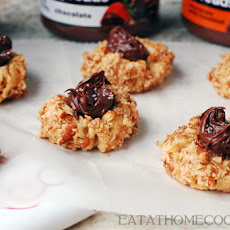 Salted Chocolate Thumbprint Cookies