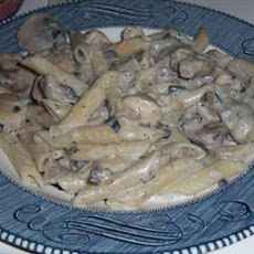 Chicken And Artichoke Penne With A White Sauce