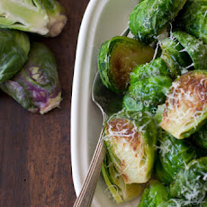 Golden-Crusted Brussels Sprouts
