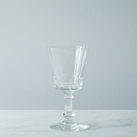 Vintage Crystal Wine Glass