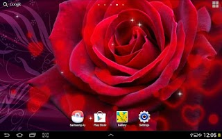 Screenshot of Valentine's Day Live Wallpaper