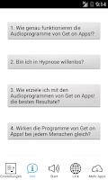 Screenshot of Get Stress-Free! Hypnose