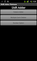 Screenshot of Shift Adder Platinum TRIAL