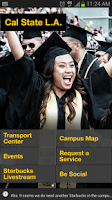 Screenshot of Cal State LA