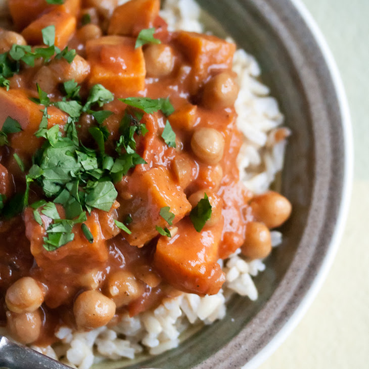 Chickpea and Sweet Potato Curry Recipe | Yummly