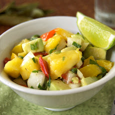 Mango Avocado Salsa {SRC Post}