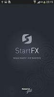 Screenshot of StartFX