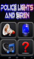 Screenshot of Police Lights And Siren Free