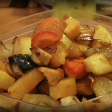Maple-Baked Root Vegetables
