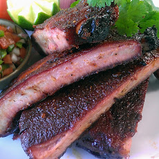 SYD Barbecue Ribs with Pico De Gallo
