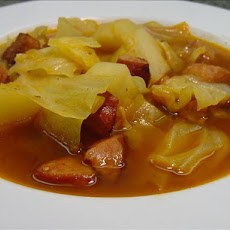 Cabbage, Sausage and Potato Stew