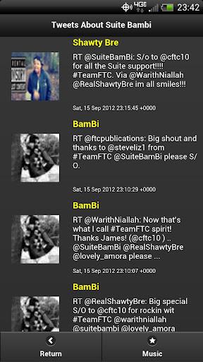 Suite Bambi Fan