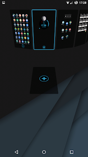 Dark Blue Theme for TSF Shell - screenshot