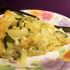 Fast and Easy Zucchini Pie
