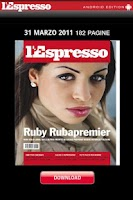 Screenshot of l'Espresso