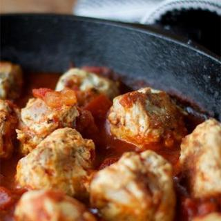 Paleo Turkey-Bacon Meatballs