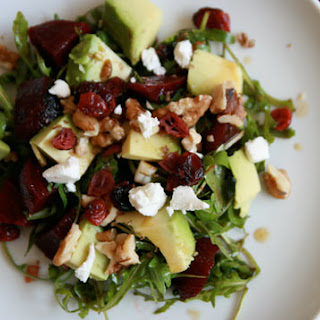Beet, Avocado, and Goat Cheese Salad