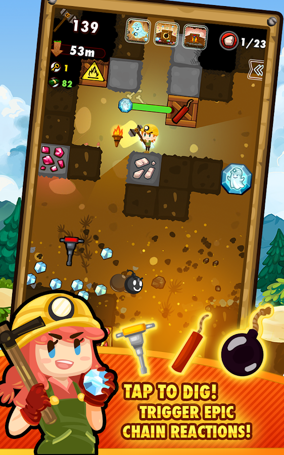 Pocket Mine 2 Screenshot 2