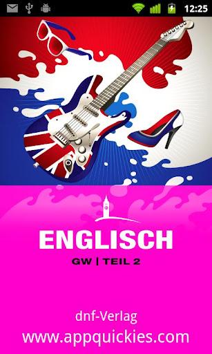 ENGLISCH GW Teil 2
