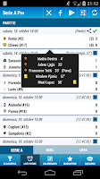 Screenshot of Serie A Pro Soccer