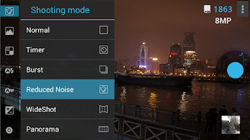 Screenshot of ProCapture camera