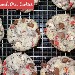 Peppermint Crunch Oreo Cookies