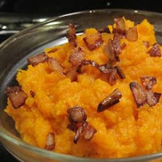 Whipped Cardamom Sweet Potatoes