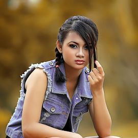 Jeanifer Angela by Septyadhi  Gunawan - People Portraits of Women ( canon, model, girl, beauty )
