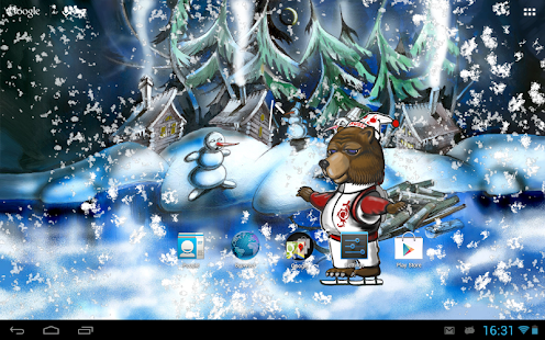 Sochi Bear 2014 Live Wallpaper - screenshot