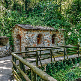 Maaras by Stratos Lales - City,  Street & Park  City Parks ( greece, drama, cave, spring, river )