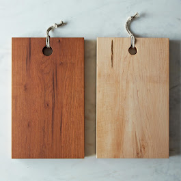 Rectangular Reclaimed Wood Serving & Cutting Board