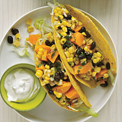 Tex-Mex Sweet Potato Tacos