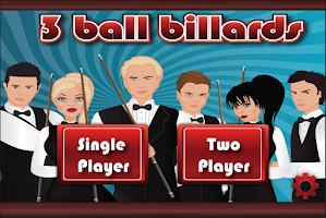 Screenshot of 3 Ball Billiards