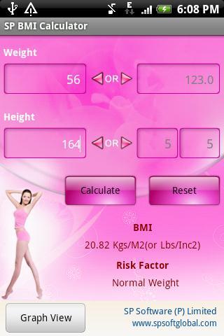 SP BMI Calculator