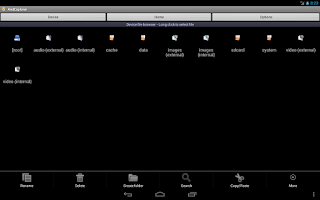 Screenshot of AndExplorer