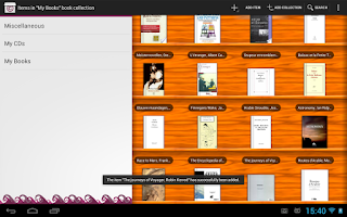 Screenshot of Collectionista manager