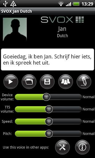 SVOX Dutch Jan Voice