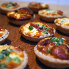Pea And Bacon Mini Quiches