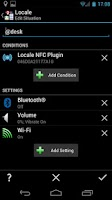 Screenshot of Locale NFC Plugin
