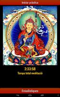 Screenshot of Shamatha meditation timer