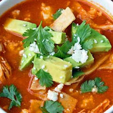 Mexican Lime With Chicken or Turkey Tortilla Soup