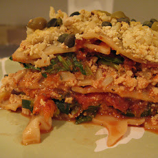 Bob Greene's No-Cheese Vegetable Lasagna