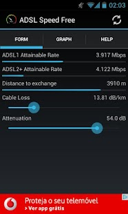 ADSL Speed Free - screenshot