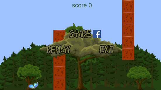 Flappy Butterfly - screenshot