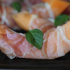 Prosciutto & Mint Wrapped Melon