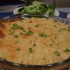 Italian Influenced Vegetarian Cottage Pie