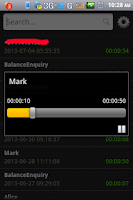 Screenshot of Live Call Recorder