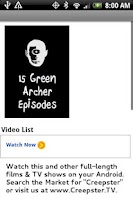 Screenshot of 15 Green Archer Episodes
